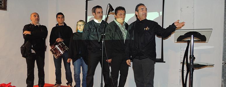 El Grupo d'Albaes El Rallat actuó en la fiesta de aniversario de Destilerías Plà.