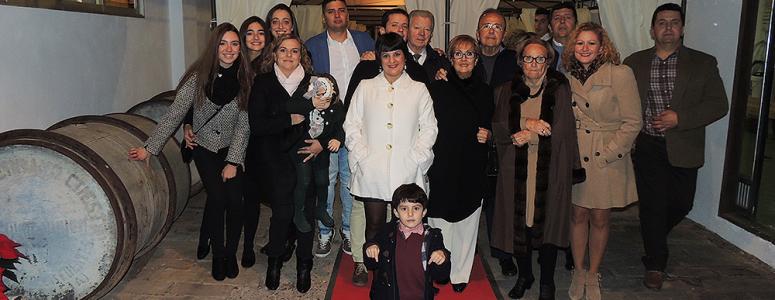 La familia Plà al completo.