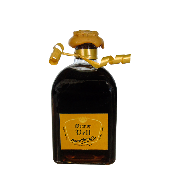 Botellita 125 cl Brandy Vell