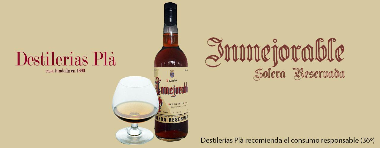 Anuncio Brandy Inmejorable 36º