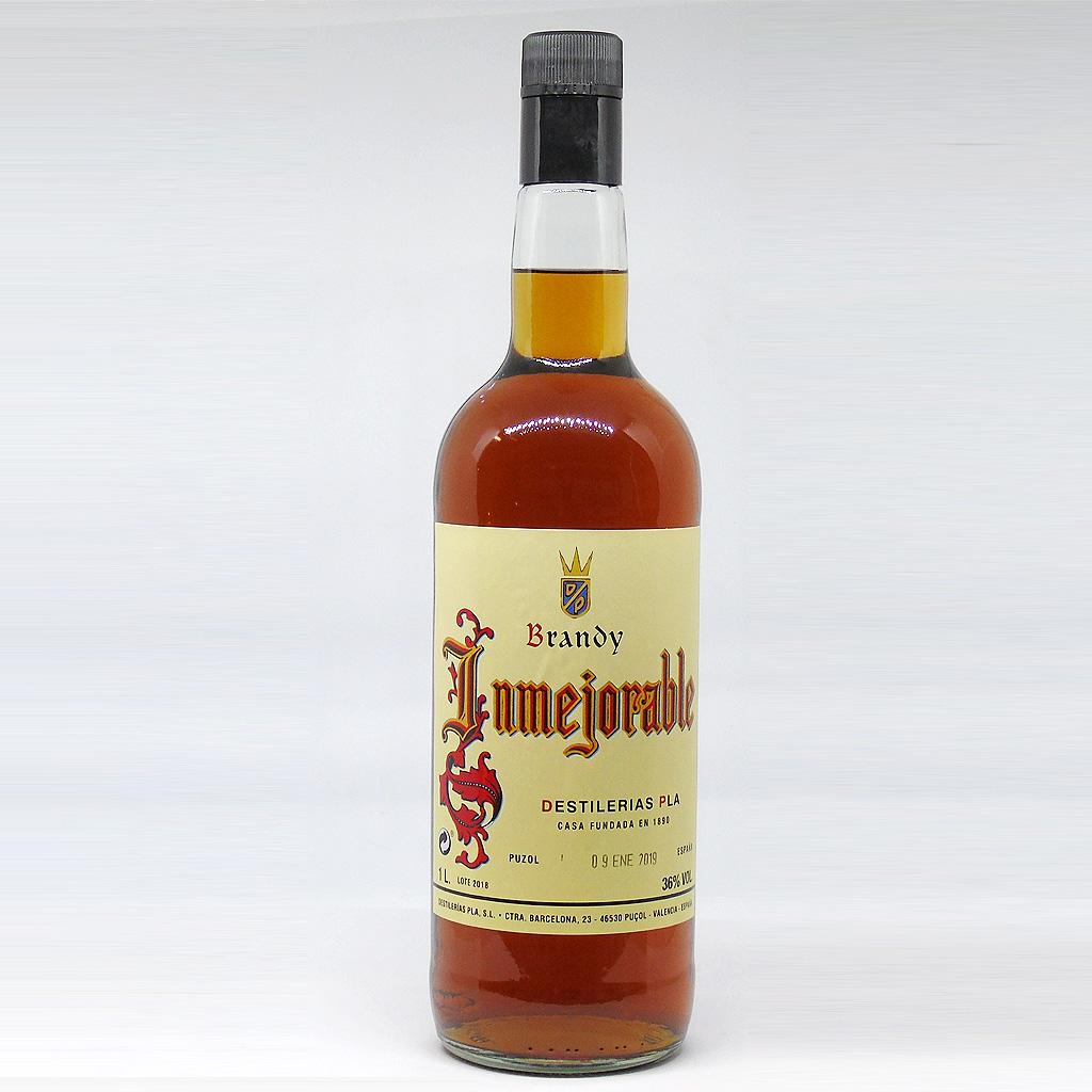 Brandy Inmejorable Destilerias Pla