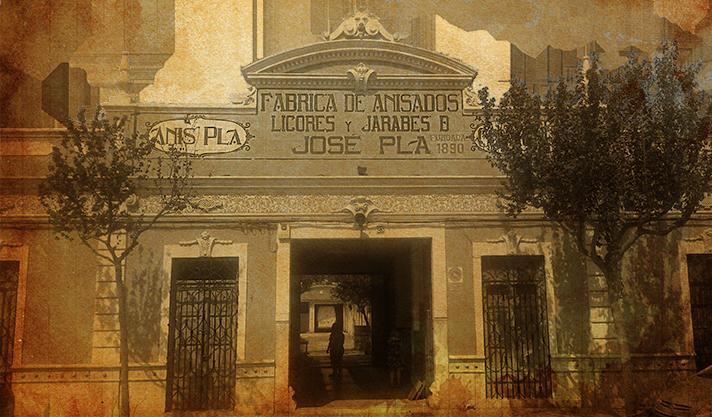 La façana de Destil·leries Plà està protegida pel seu especial valor cultural i turístic.