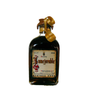 Botellita de Brandy Inmejorable 2000 de 100 cl